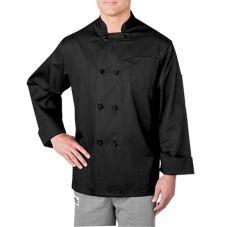 Chefwear® 5650-30 Medium Black Four-Star Chef Jacket