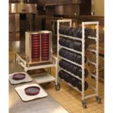 Cambro Camduction Pellet and Base Drying and Storage Cart