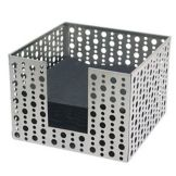 Front Of The House BHO039BSS21 Stainless Dots Napkin Holder - 4 / CS
