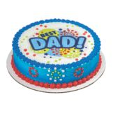 DecoPac 34011 Best Dad Edible Image - 12 / BX