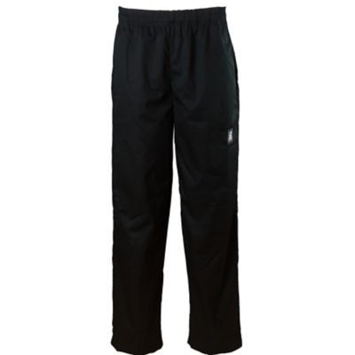 Chef Revival® P020BK-L Black Large Baggy Chef Pants