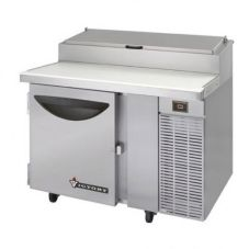"Victory Refrigeration VPT-46 46"" Single Door S/S Pizza Prep Table"