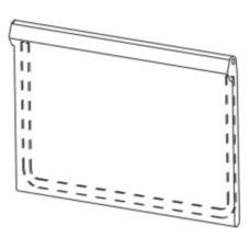Scotsman® A36481-022 Gray Ice Bin Access Door