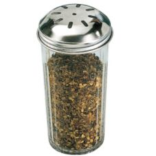 American Metalcraft 3317 12 Oz Slotted Spice Shaker