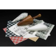 American Metalcraft PPCH1B Black Checkerboard Fry Paper - 1000 / PK