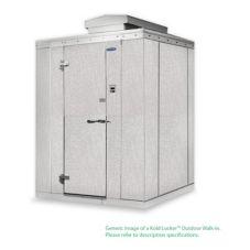 Nor-Lake KODF7788-CX Kold Locker 8 x 8 Ft Outdoor Walk-In Freezer