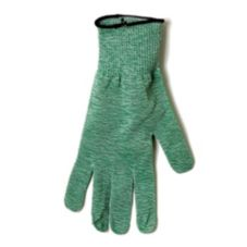 "San Jamar® SG10-GN-M Green 11"" Medium Cut Resistant Glove"