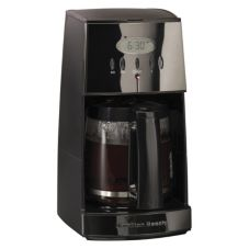 Hamilton Beach 43255R 12 Cup No Drip Black Ice™ Coffeemaker