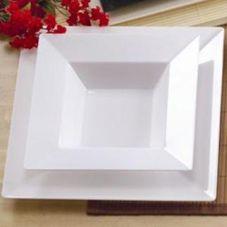 EMI Yoshi® EMI-SB5-WH Squares 5 Oz. Serving Bowl - 120 / CS
