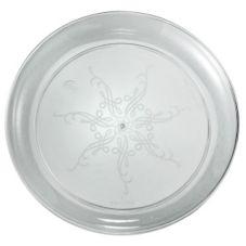 "EMI Yoshi® EMI-CC7 Clear Plastic 7"" Plate - 240 / CS"