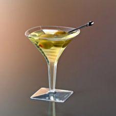 EMI Yoshi® EMI-SMTG2 Clear 2 Oz Mini Martini Glass - 96 / CS