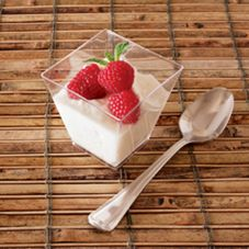 EMI Yoshi® Small Wonders Clear Plastic 6.8 Oz. Cube Dish