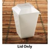 EMI Yoshi® EMI-602LP Clear Lid For 5.1 Oz Cube Dish - 1000 /CS