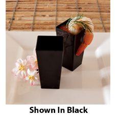 EMI Yoshi® EMI-603-CL Plastic 3 Oz. Cube Dish - 200 / CS