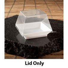 EMI Yoshi® Small Wonders Clear Plastic Lid for 1 Oz Cube Dish