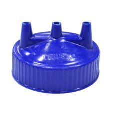 Traex Tri Tip™ Wide Mouth Bottle Opening Blue Replacement Cap