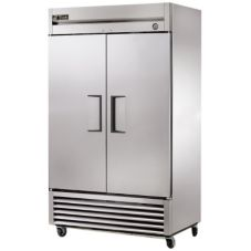 True® T-43F S/S 2 Door 43 Cu Ft Reach-In Freezer