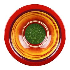 "Elite Global Solutions V13  Round 13"" x 3-3/8"" Hot Cha-Cha Bowl"