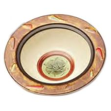 Elite Global Solutions 2.75 Qt. Artist Series Bas Relief Rimmed Bowl