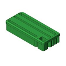 Edlund I0683 Green Insert for Knife Holder KR-50 G