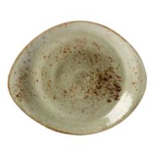 "Steelite 11310521 Craft Green 10"" FreeStyle Plate - 12 / CS"