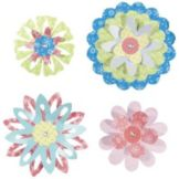DecoPac 14941 Blossoming Flowers Layon - 24 / PK