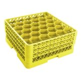 Vollrath TR12HHH-08 Traex 30-Comp Full Size Yellow Glass Rack - 2 / CS