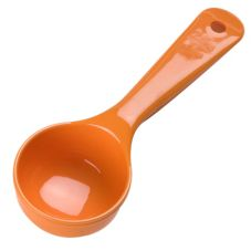 Carlisle® Measure Miser® 2.5 Oz. Orange Portion Control Spoon
