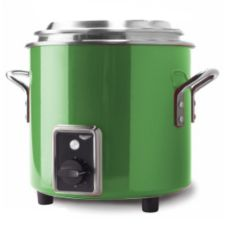 Vollrath® 7217735 7 Qt Green Finish Stock Pot Kettle Rethermalizer