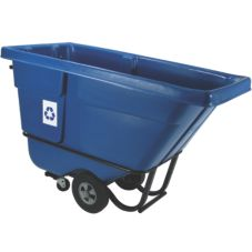 Rubbermaid® 130573 5 Cubic Yard Blue Recycling Tilt Truck