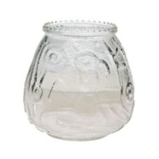 Sterno Products® 40122 Euro-Venetian® Clear Candle - 12 / CS