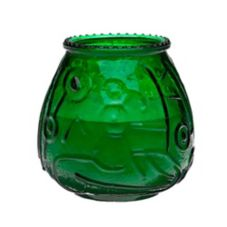 "Candle Corporation 3-3/4"" (H) Green Venetian Candle"