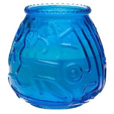 Sterno Products® 40120 Euro-Venetian® Blue Candle - 12 / CS