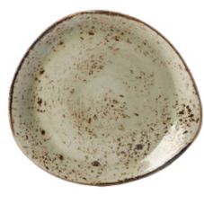 "Steelite 11310520 Craft Green 12"" FreeStyle Plate - 12 / CS"
