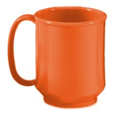 G.E.T. SN-104-RO Rio Orange 8 Oz. Single Handle Sippy Mug - 24 / CS