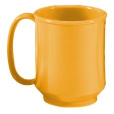 G.E.T. SN-104-TY Tropical Yellow 8 Oz. Sippy Mug - 24 / CS