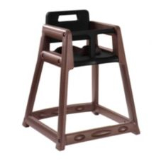 Central Specialties 850BRN-ARBY Brown Plastic Highchair