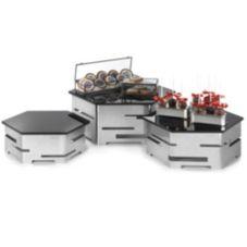 Rosseto® SK012 6-Piece Stainless Steel Hexagon Centerpiece