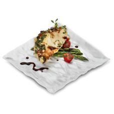 "EMI Yoshi® EMI-CP9-WH Plastic 9"" Dinner Plate - 120 / CS"