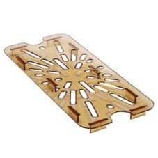 Cambro® 90HPD150 High Heat Amber 1/9 size Drain Shelf