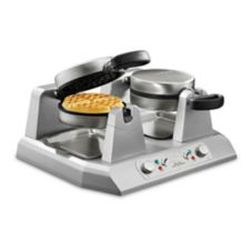 Waring® WW250B Double Side-By-Side 208V Belgian Waffle Maker