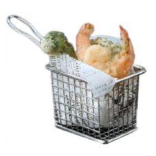 American Metalcraft FRYT433 S/S Mini Fry Basket