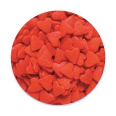 Bakery Crafts 5 Lb. Box Red Hearts Quins