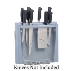 San Jamar® STK1008 Saf-T-Knife® Kitchen Knife Station