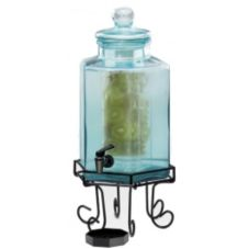 Cal-Mil 1111A Acrylic 2 Gal. Octagon Beverage Dispenser