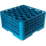 Carlisle® RW30-214 OptiClean NeWave 30 Compartment Blue Glass Rack