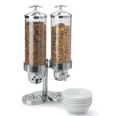 Vollrath 4635210 Somerville™ 4 Qt. S/S Double Cereal Dispenser