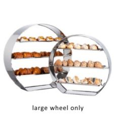 "Spring USA® XCESSories S/S 29"" Tall Hammered Display Wheel"