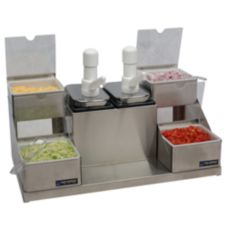 San Jamar® P9724 Self-Service Condiment Center