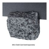 American Metalcraft GRNCHD Dark Gray Granite Card Holder